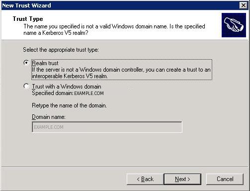 Microsoft trusting MIT Kerberos
